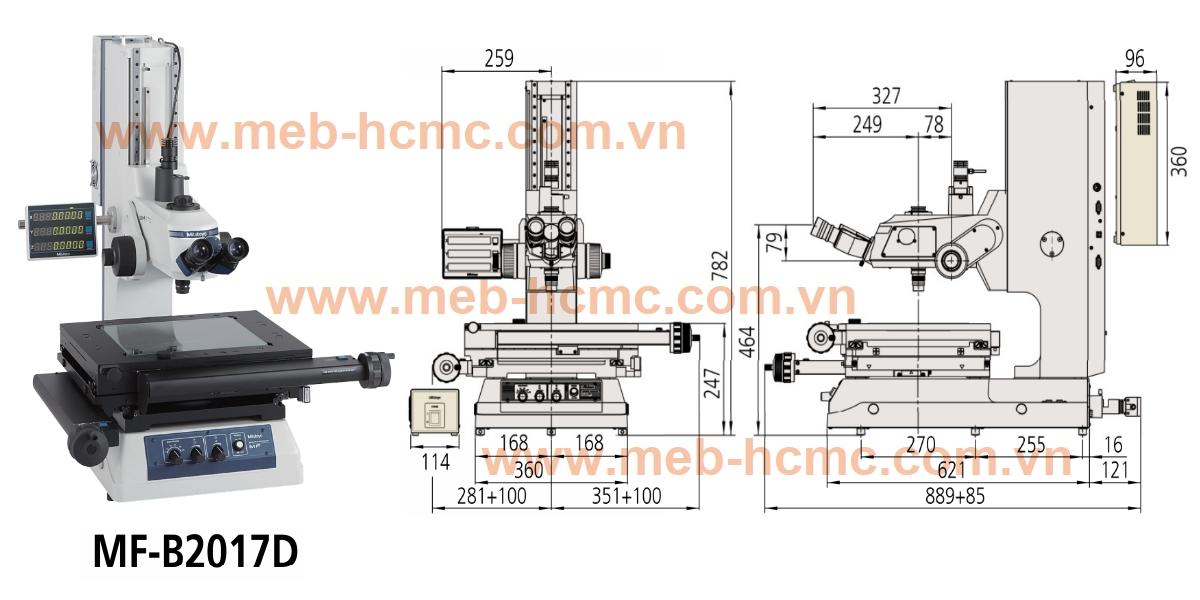 MF-B2017D - Kính hiển vi điện tử 176-868-10, Mitutoyo - MebHcmc